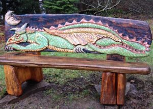 Sleeping Dragon Bench